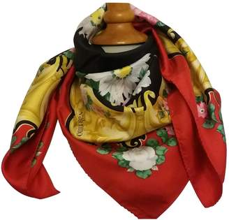 Valentino Vintage Red Silk Scarves