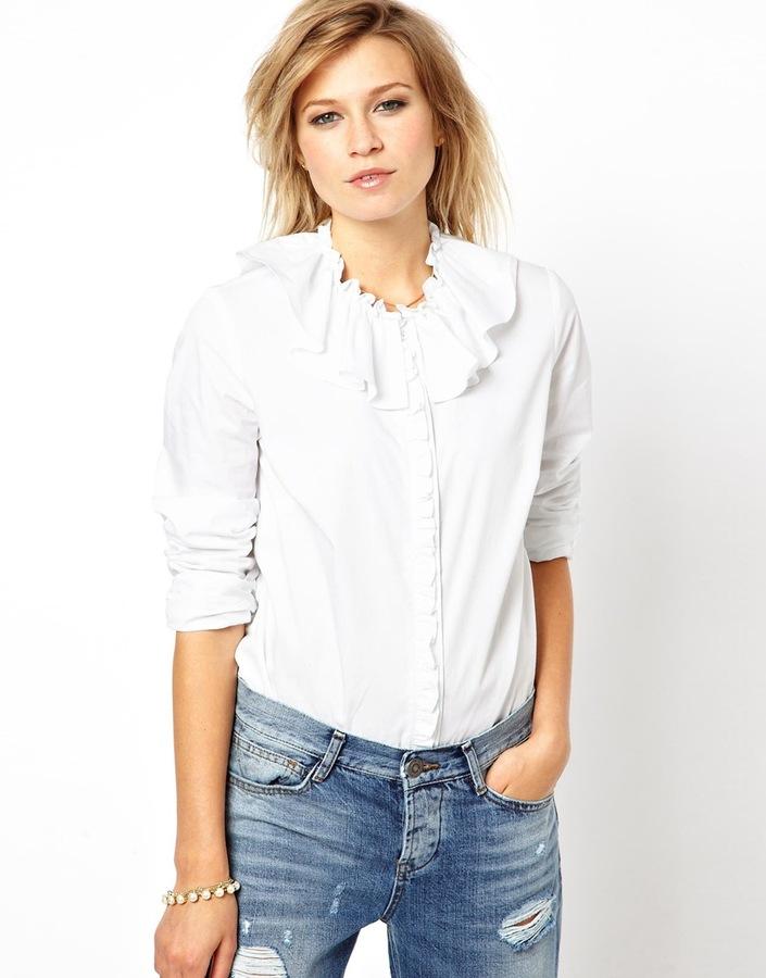 Asos Shirt with Frill Collar