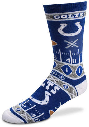 For Bare Feet Indianapolis Colts Ugly Sweater Socks