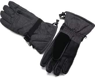 Swiss+Tech Men's SwissTech Touchscreen Marled Ski Glove