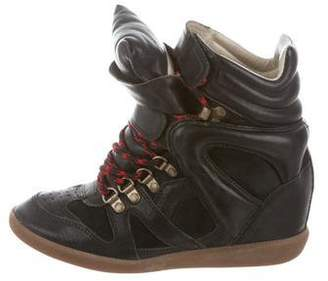 Etoile Isabel Marant Beckett Wedge Sneakers