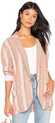 Free People Simply Stripe Blazer