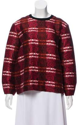 Mother of Pearl Oversize Printed Top