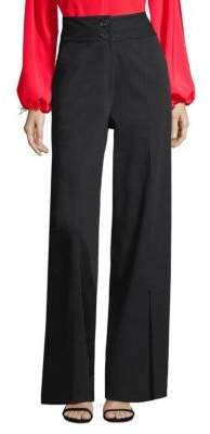 Robert Rodriguez Slit Flare Pants
