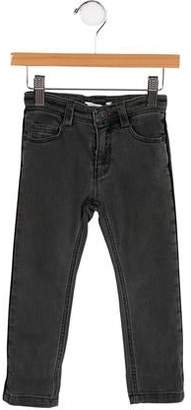 Little Marc Jacobs Girls' Faded Straight-Leg Jeans w/ Tags