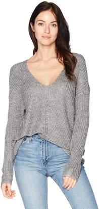 Vero Moda Women's Escalon Long Sleeve V-Neck Sweater