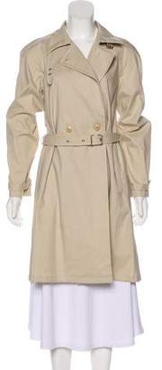 HUGO BOSS Boss by Double-Breasted Trench Coat