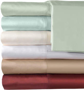 Veratex American Heritage 500tc Cotton Sateen Solid Sheet Set