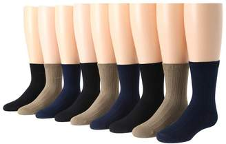 Stride Rite 9-Pack Comfort Seam Ribbed Crew Boys Shoes