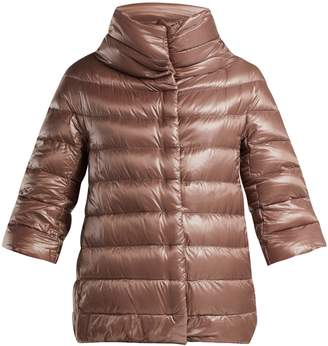 Herno Aminta funnel-neck nylon quilted jacket