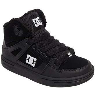 DC Boys' Pure HIGH-TOP WNT Skate Shoe