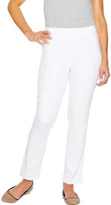 C. Wonder Petite Stretch Denim Pull-On Ankle Jeans