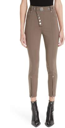 Alexander Wang Asymmetrical Fly Legging Pants