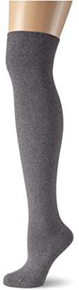 Kunert Women's Knitted 100 DEN Knee-High Socks - Grey