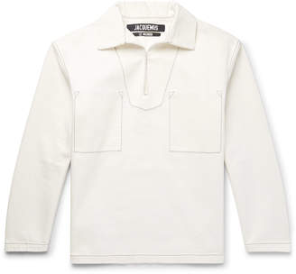 Jacquemus Le Marin Cotton-Canvas Shirt