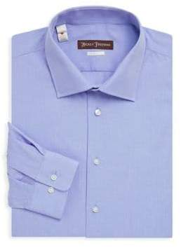Hickey Freeman Classic-Fit Cotton Shirt