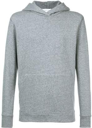 John Elliott side zip hooded sweatshirt