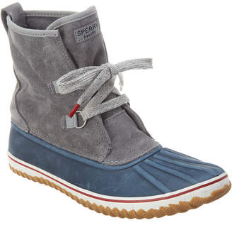 Sperry Schnor Slouch Tie Suede Boot
