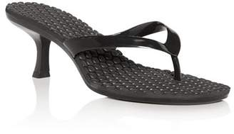 Jeffrey Campbell Women's Mid-Heel Thong Sandals