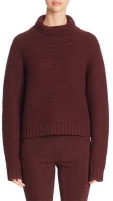 Vince Solid Long Sleeve Sweater $345 thestylecure.com