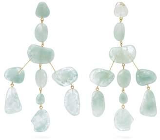 Cult Gaia Sloane Stone Drop Earrings - Womens - Blue
