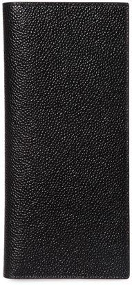 Pebbled Leather Vertical Wallet $670 thestylecure.com