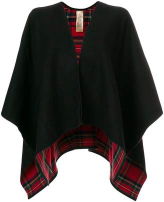 Burberry checked lining shawl