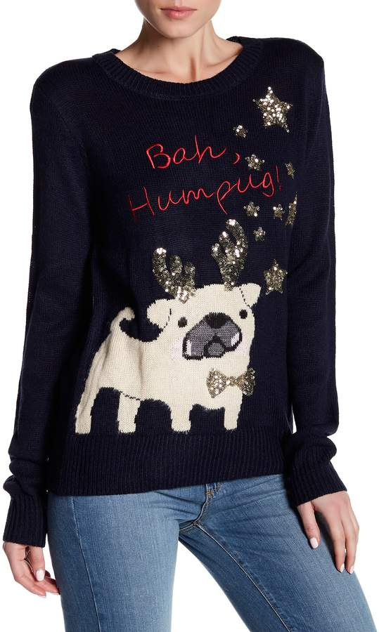 Poof Puppy Bah Humbug Sweater 2