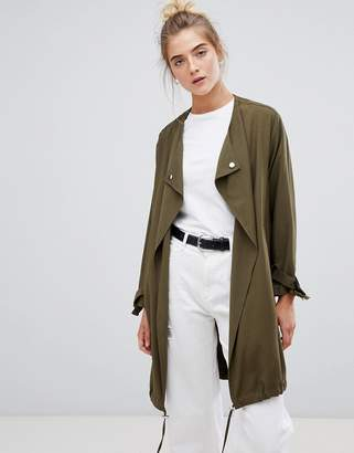 New Look waterfall duster coat