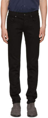 Rag & Bone Black Standard Issue Fit 1 Jeans
