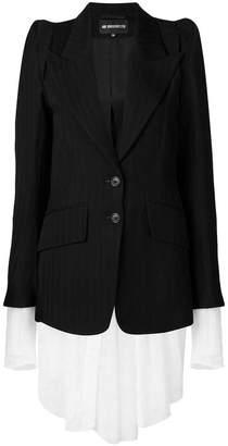 Ann Demeulemeester layered blazer