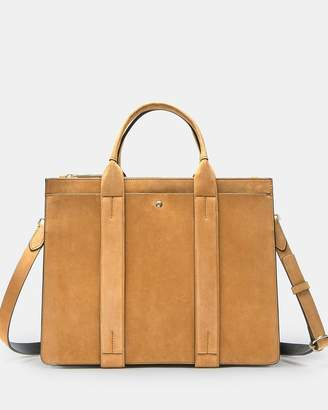 Theory West Bag In Suede