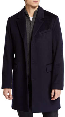 Andrew Marc Men's Wool-Cashmere Peacoat