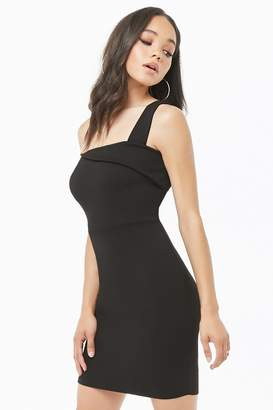 Forever 21 Asymmetrical Bodycon Mini Dress