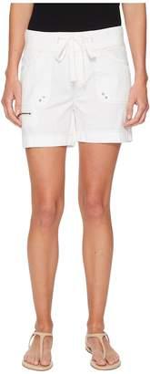 Jag Jeans Diana Knit Waist 5 Drawstring Shorts in Breezy Poplin Women's Shorts