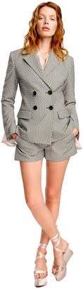 Max Studio floral jacquard jacket