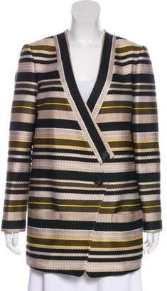 Jenni Kayne Striped Short Coat
