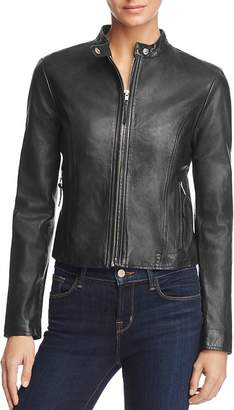 BB Dakota Leydon Leather Moto Jacket - 100% Exclusive