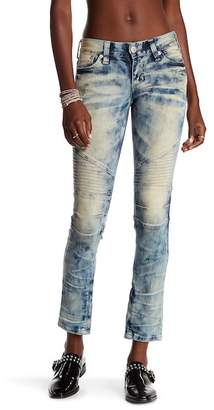 Affliction Raquel Carly Washed Moto Skinny Jeans