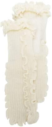 MM6 MAISON MARGIELA ruffled knit socks