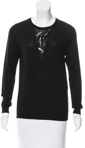 3.1 Phillip Lim 3.1 Phillip Lim Embellished Crew Neck Sweater