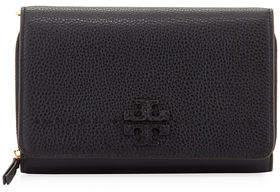 Tory Burch McGraw Flat Crossbody Wallet Bag