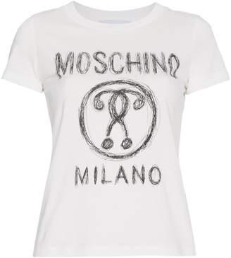 Moschino Logo Front T-Shirt