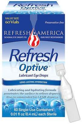 Refresh Optive Preservative-Free Lubricant Eye Drops Single Use Containers $27.99 thestylecure.com