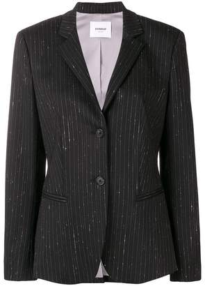 Dondup pinstriped single-breasted blazer