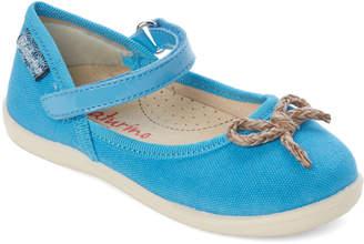 Naturino Toddler/Kids Girls) Blue Bow Mary Jane Shoes