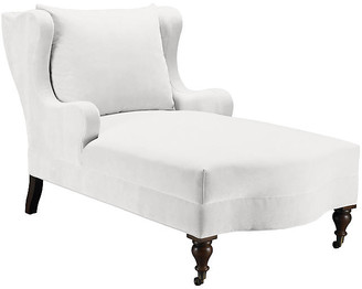 Mr & Mrs Howard Montclaire Chaise - Snow Velvet