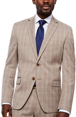 COLLECTION Collection by Michael Strahan Plaid Classic Fit Suit Jacket
