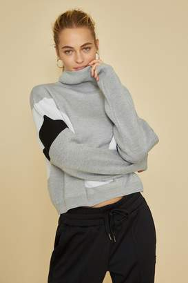 Fila Bandier X V Intarsia Turtle Neck Sweater