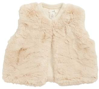 Peek Essentials Peek Hayden Reversible Faux Fur Vest